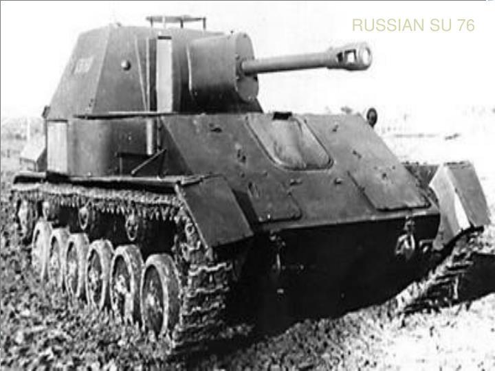 RUSSIAN SU 76