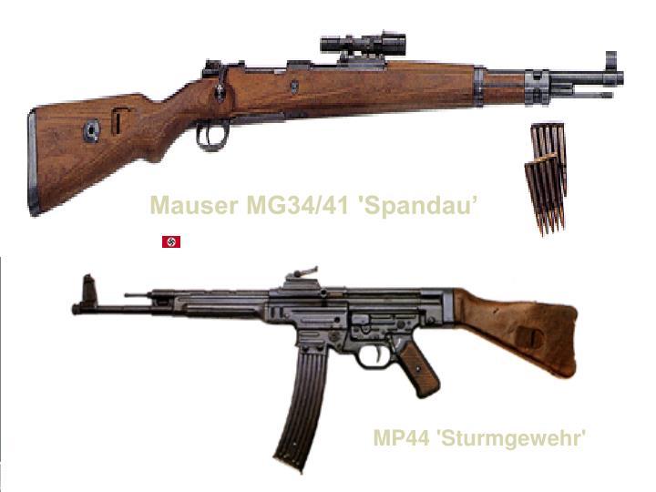 Mauser MG34/41 'Spandau'