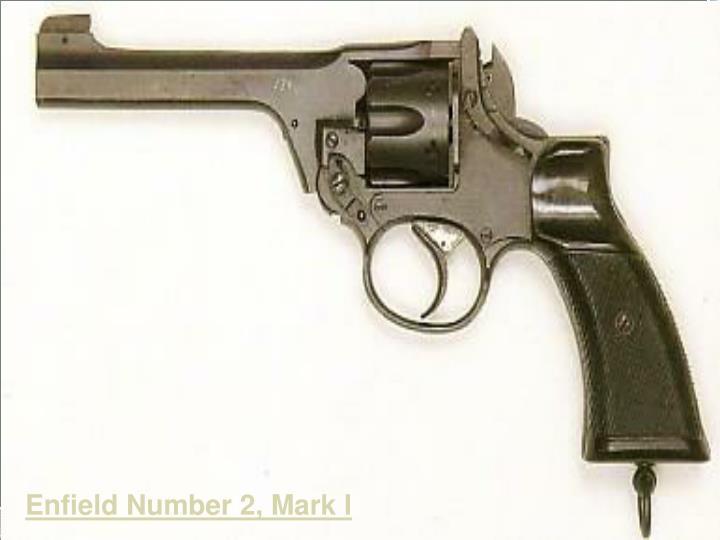 Enfield Number 2, Mark I