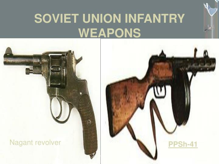 SOVIET UNION INFANTRY WEAPONS