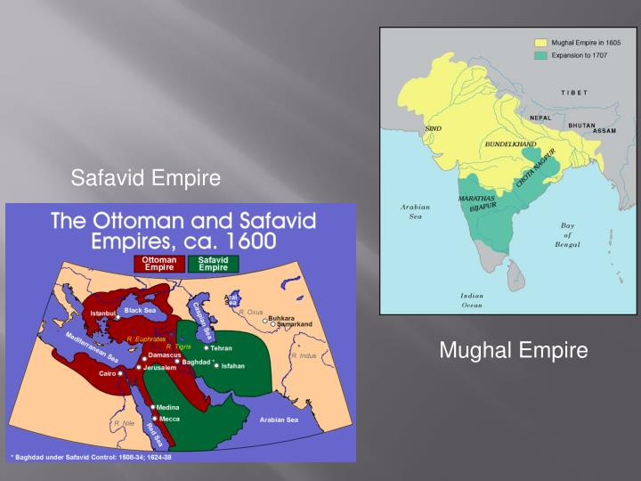 compare mughal and ottoman empire Compare and contrast two institutions from any two of the following muslim empires: ottoman empire safavid empire mughal - answered by a verified writer we use cookies to give you the best possible experience on our website.