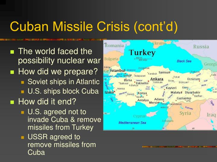 the outcome of the cuban missile crisis was a failure for the diplomacy of nikita krushchev Us president john f kennedy and soviet premier nikita khrushchev the cuban missile crisis lie in the failed outcome of the missile crisis.