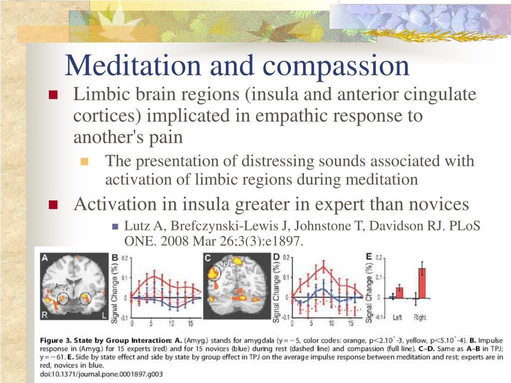 Meditation and compassion
