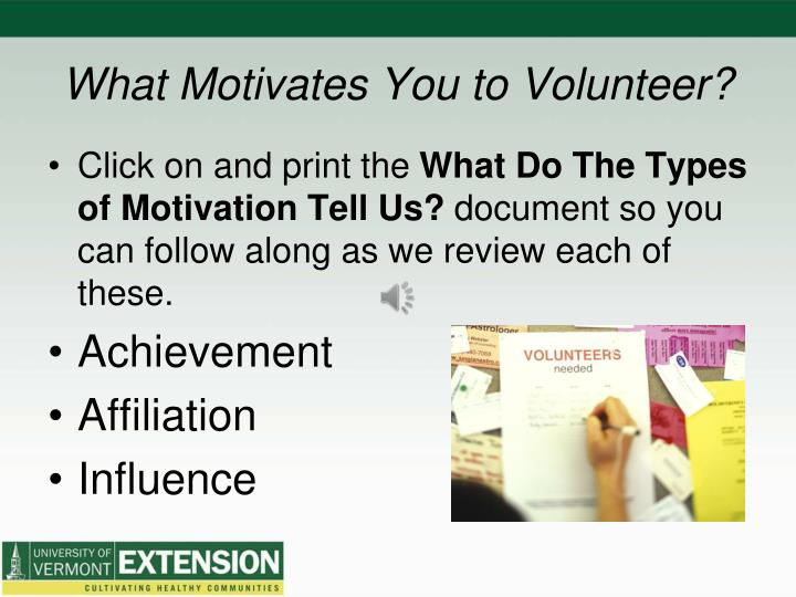 """what motivates you and why essay Learn the best way to answer """"what motivates you"""" hint: it's not about the and hiring managers want to know what you like doing and why you like doing."""