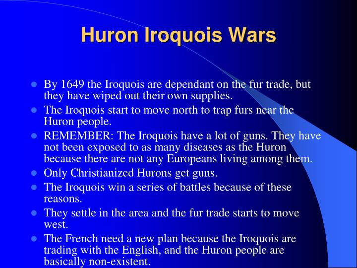 Huron Iroquois Wars