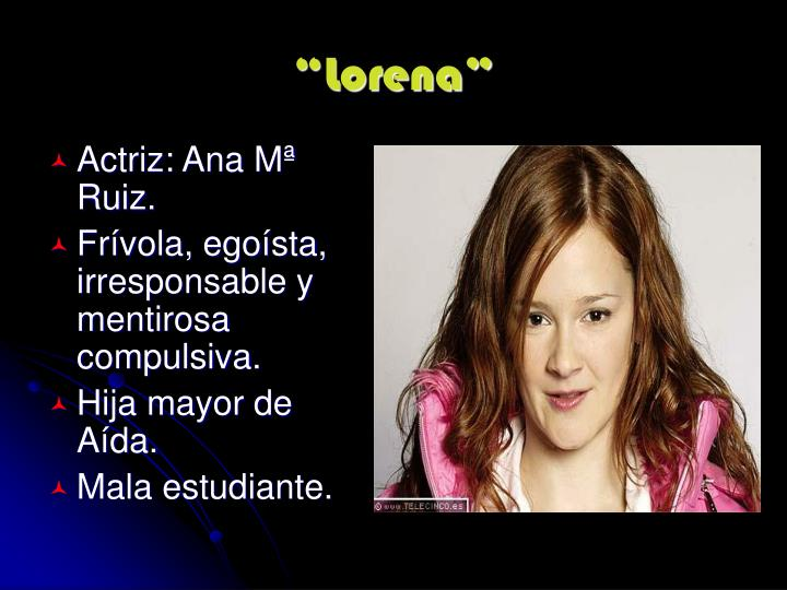 """Lorena"""