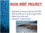 rock reef project