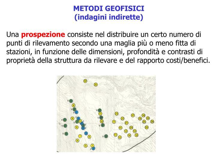 METODI GEOFISICI