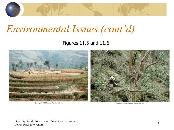 Environmental Issues (cont'd)