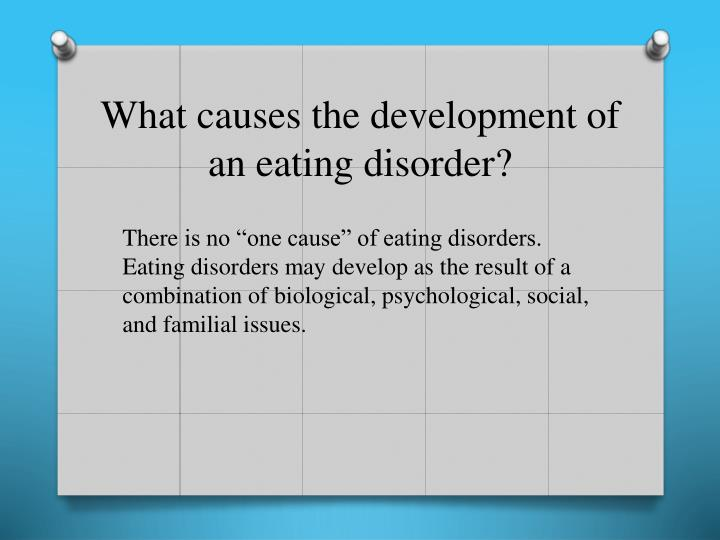 an analysis of the cause and effects of eating disorders Males, anorexia, and physical side effects tweet  by anorexia can cause a host of physical side effects in men  physical side effects of eating disorders in.