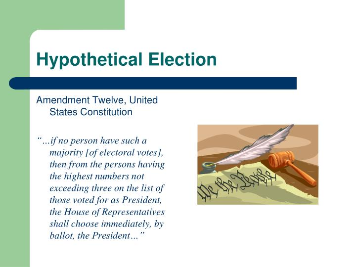 Hypothetical Election