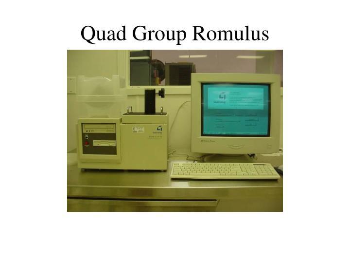 Quad group romulus