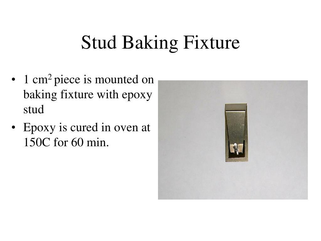Stud Baking Fixture