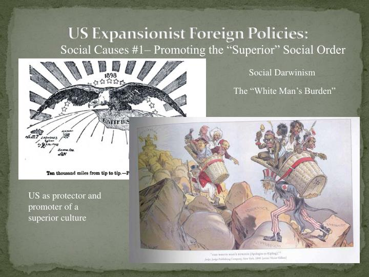 Us expansionist foreign policies