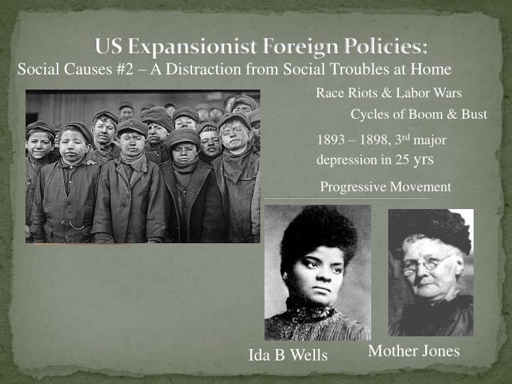 Us expansionist foreign policies1