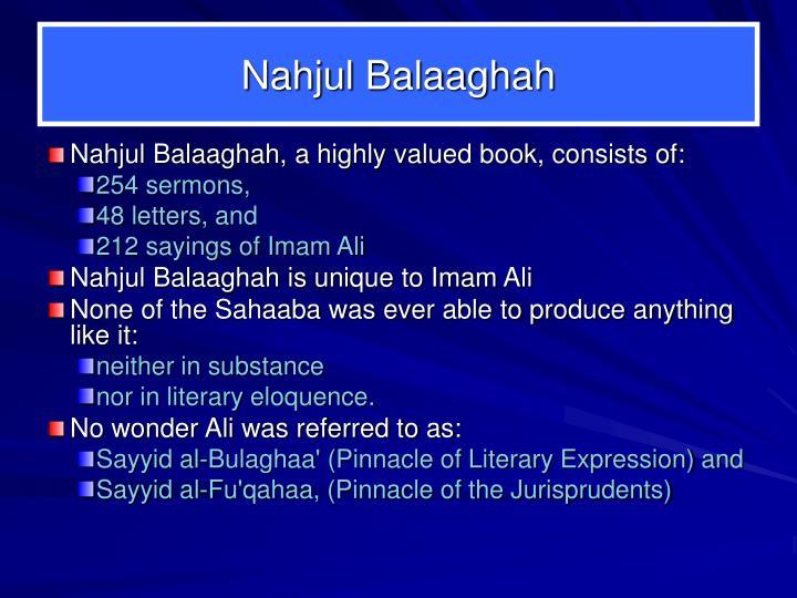 Nahjul Balaaghah