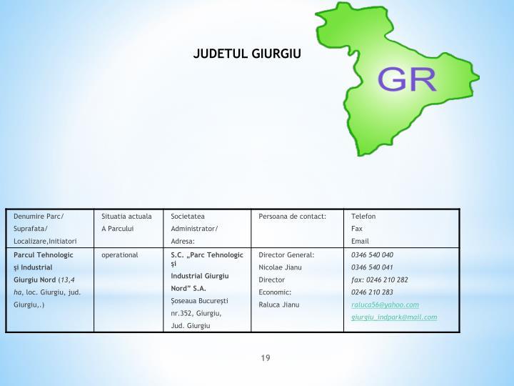 JUDETUL GIURGIU
