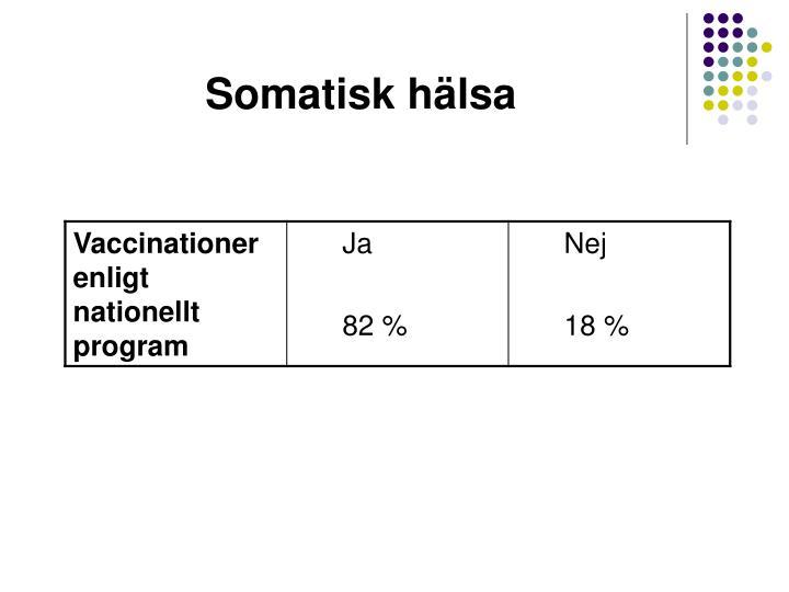 Somatisk hälsa