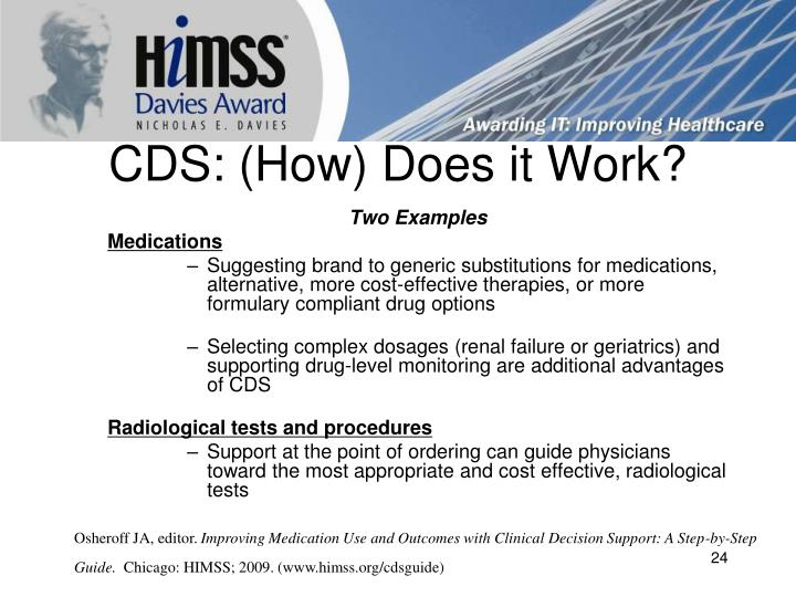 CDS: (How) Does it Work?