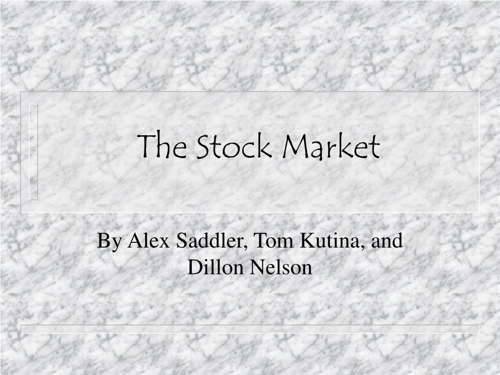 the stock market l.