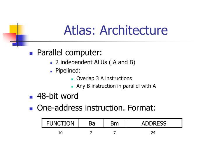 Atlas: Architecture