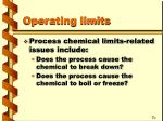 operating limits2