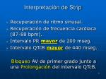 interpretaci n de strip