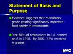statement of basis and purpose5