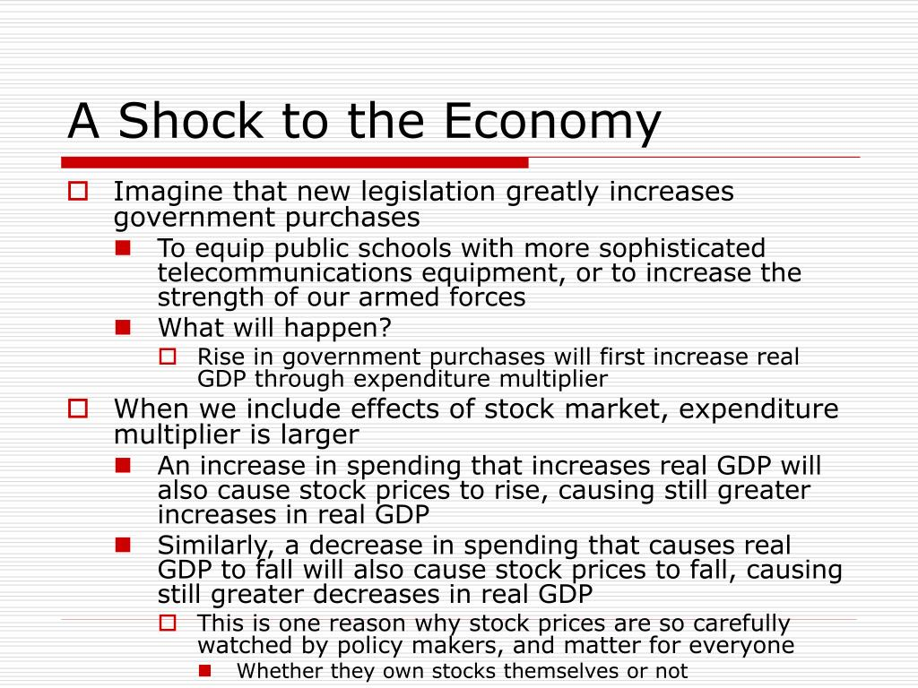 A Shock to the Economy