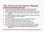 the fed and the stock market28