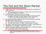 the fed and the stock market31