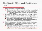 the wealth effect and equilibrium gdp17