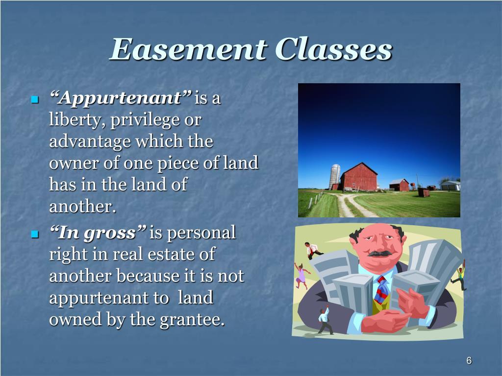 Easement Classes