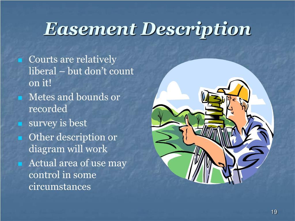 Easement Description