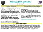 texas southern university cdr adrian l west 9 24 2009 report