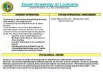 xavier university of louisiana charles donaldson jr ltjg lead ambassador