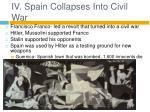 iv spain collapses into civil war