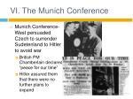 vi the munich conference