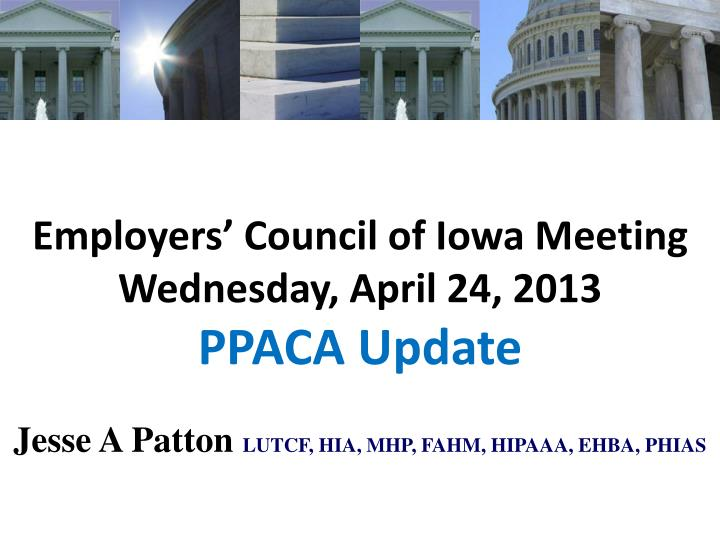Employers' Council of Iowa Meeting