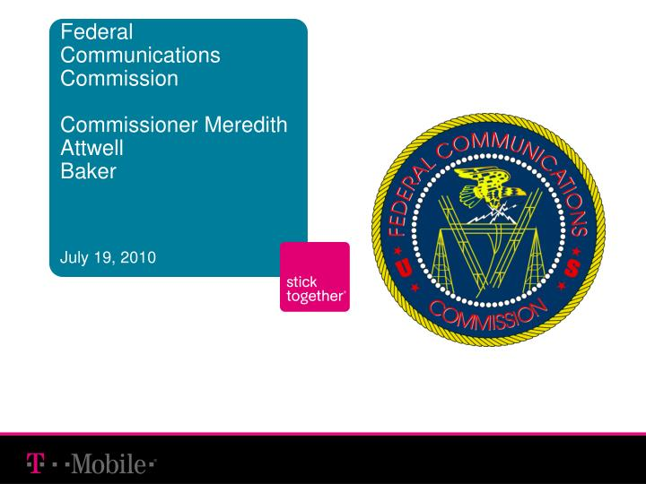 federal communications commission commissioner meredith attwell baker