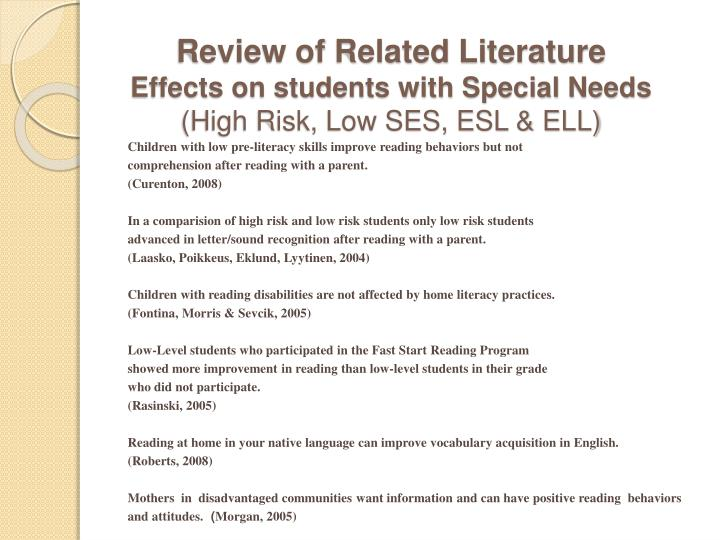 review related literature for effects of cellphones to students Literature review exploring the effects of text messaging on the spelling have used cell phones more for voice oriented.