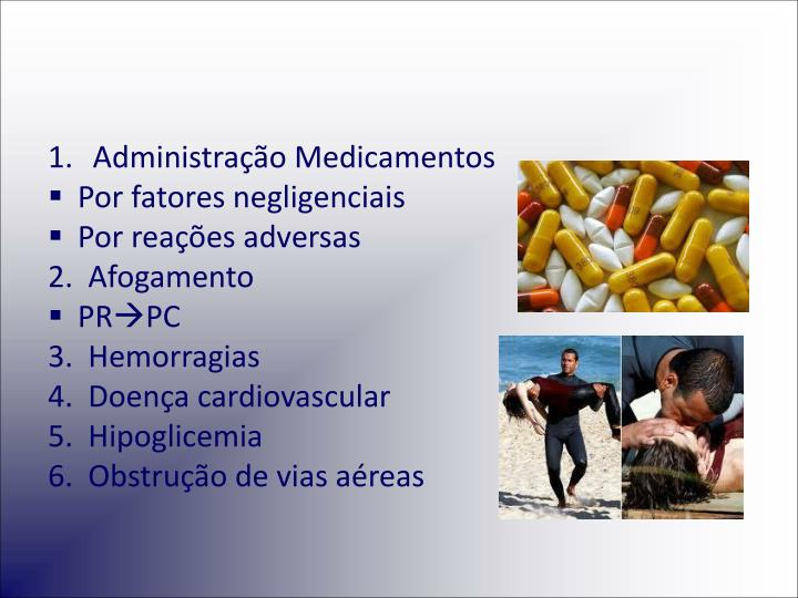 Administração Medicamentos
