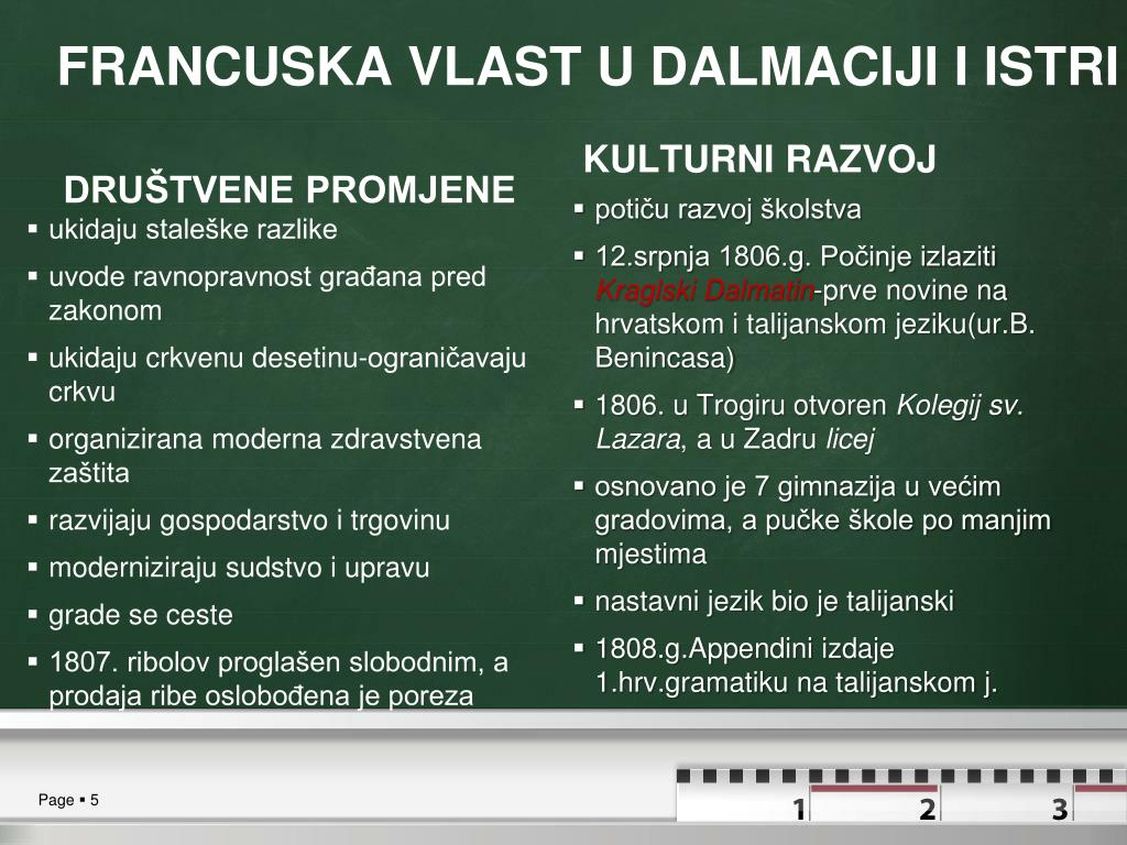 Ppt Hrvatska U Vrijeme Napoleonovih Ratova Powerpoint