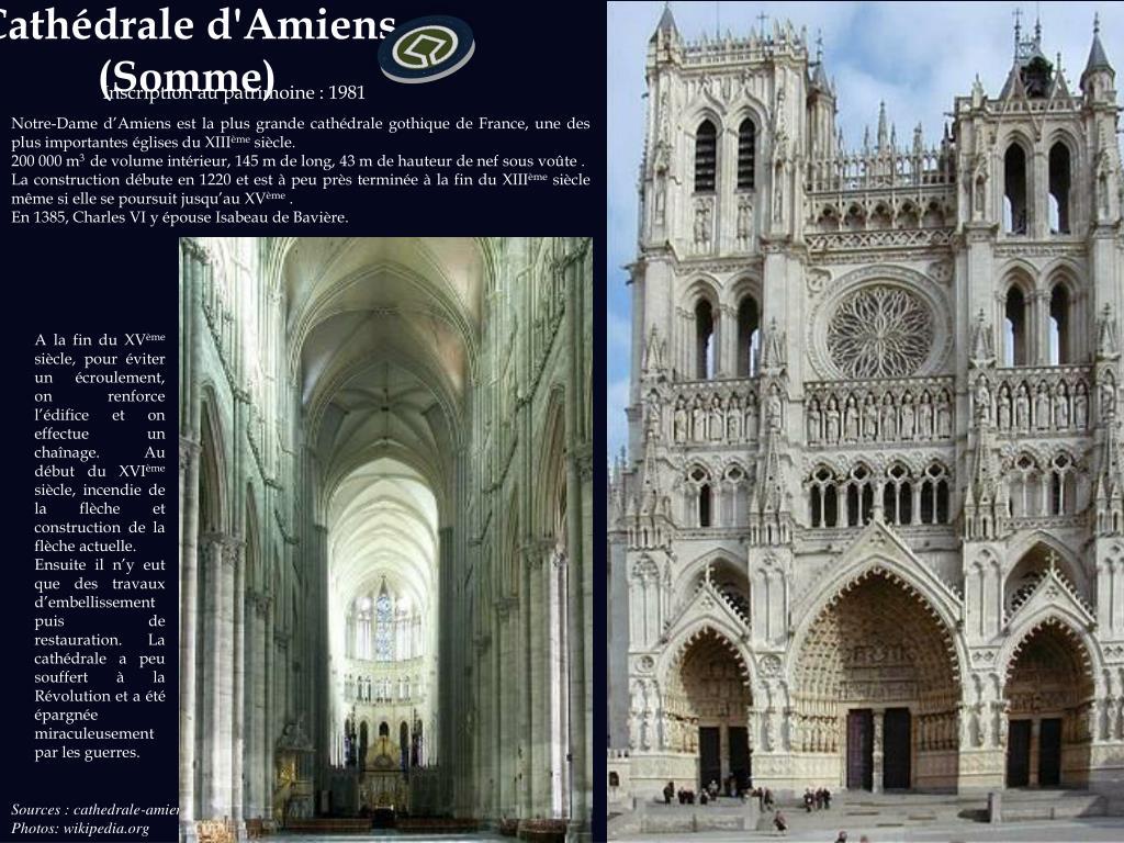 Cathédrale d'Amiens  (Somme)