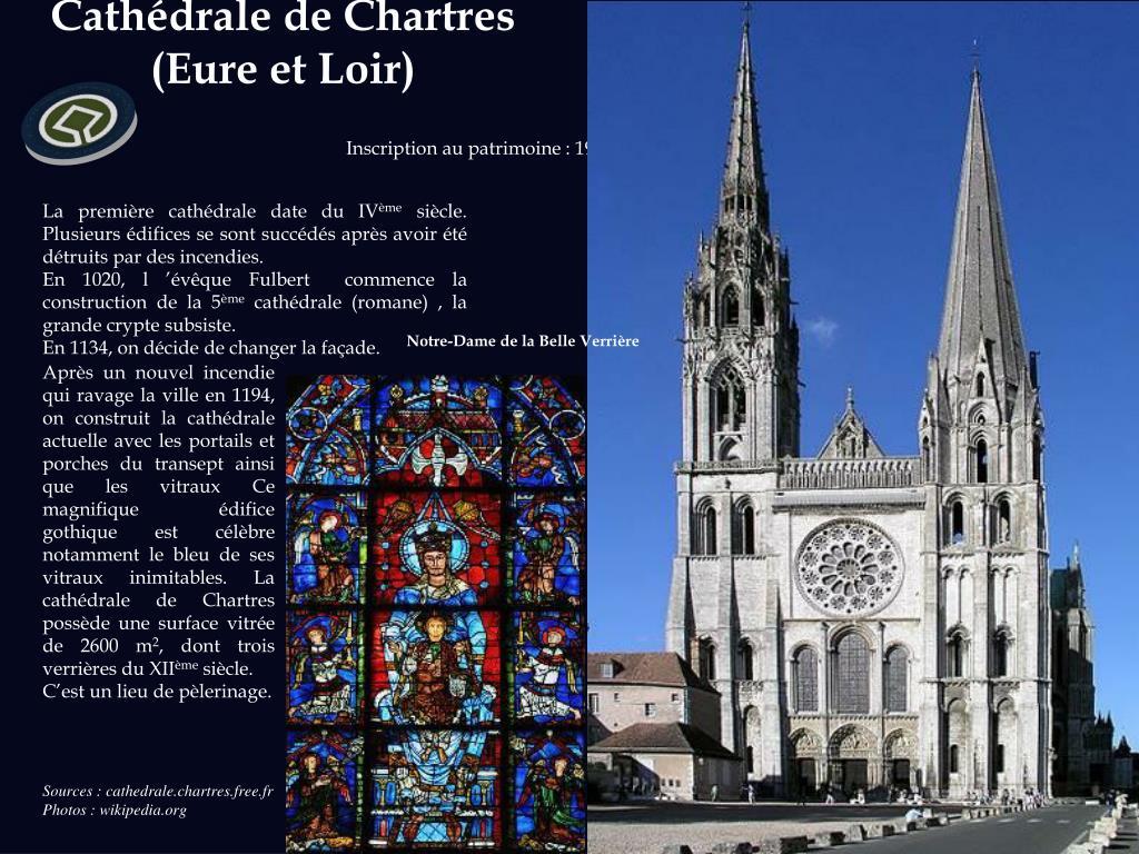 Cathédrale de Chartres  (Eure et Loir)