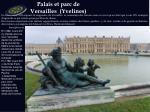 palais et parc de versailles yvelines