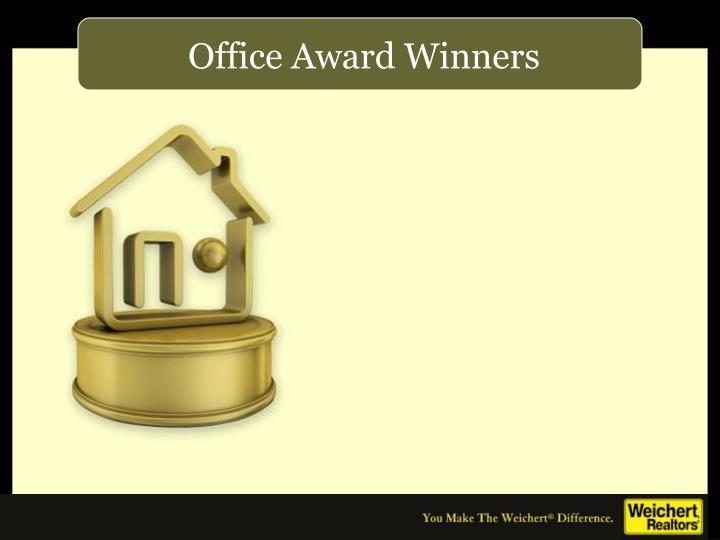 Office Award Winners