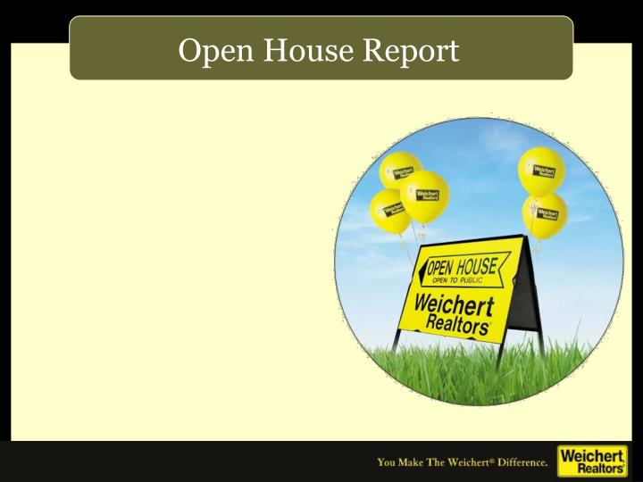 Open House Report