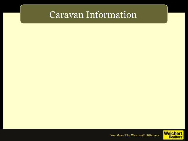 Caravan Information