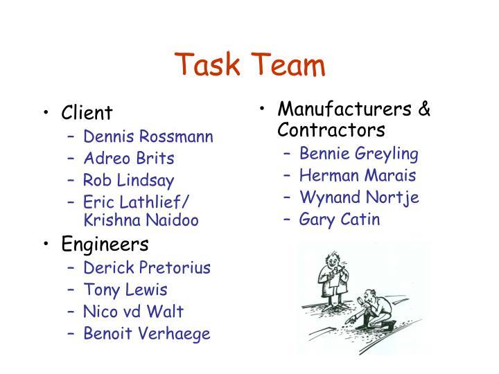 Task team